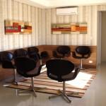 Sala de espera - Clínica CMP Curitiba